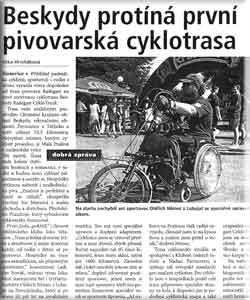 Beskydy Radegast CykloTruck