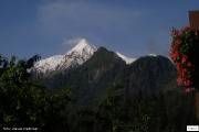 Kaprun - pohled na Kitzsteinhorn ski trail