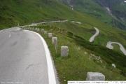 Pohled do údolí Nationalpark Hohe Tauern z 2000m.n.m.