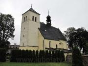 Farní kostel sv. Jiří, k. ú. Lubojaty.