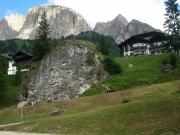 Stoupání z Corvary na passo di Gardena - 25. července 2010