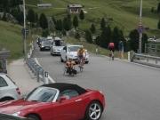 Pár metrů před passem di Gardena a i když jsme s Mariánem brzdou provozu nikdo se nerozčiluje