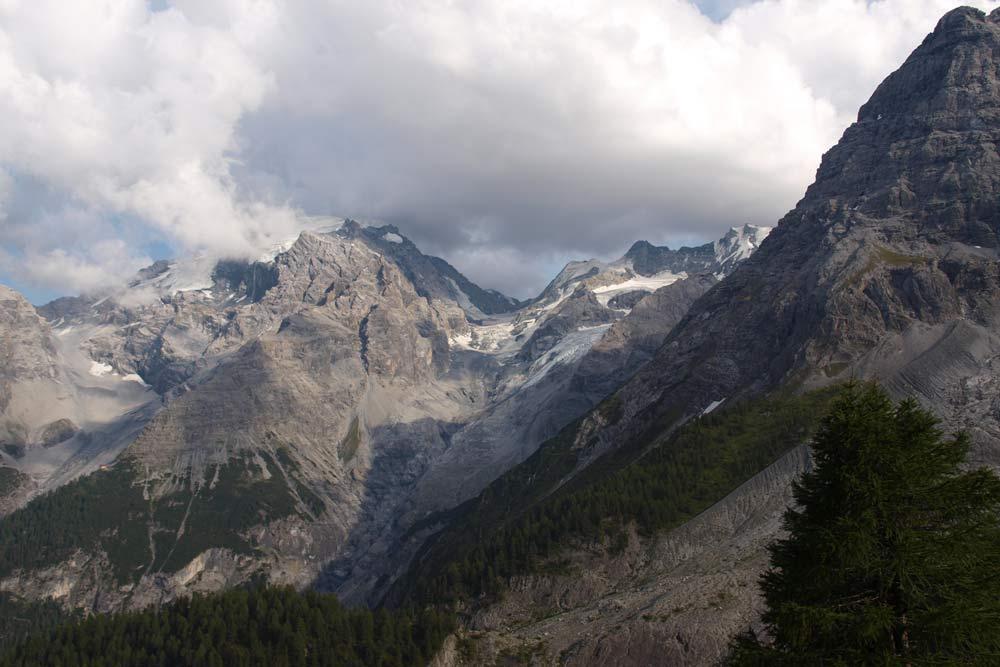 Ortler, nejvyšší hora pohoří Ortles ležící v Itálii