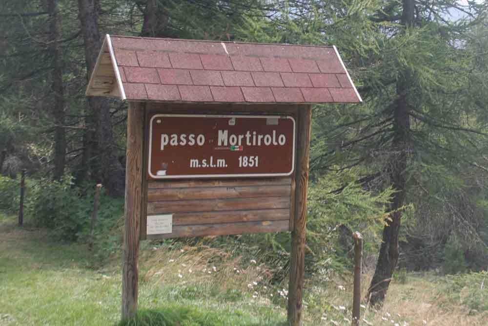 Passo Mortirolo 1851m.n.m.