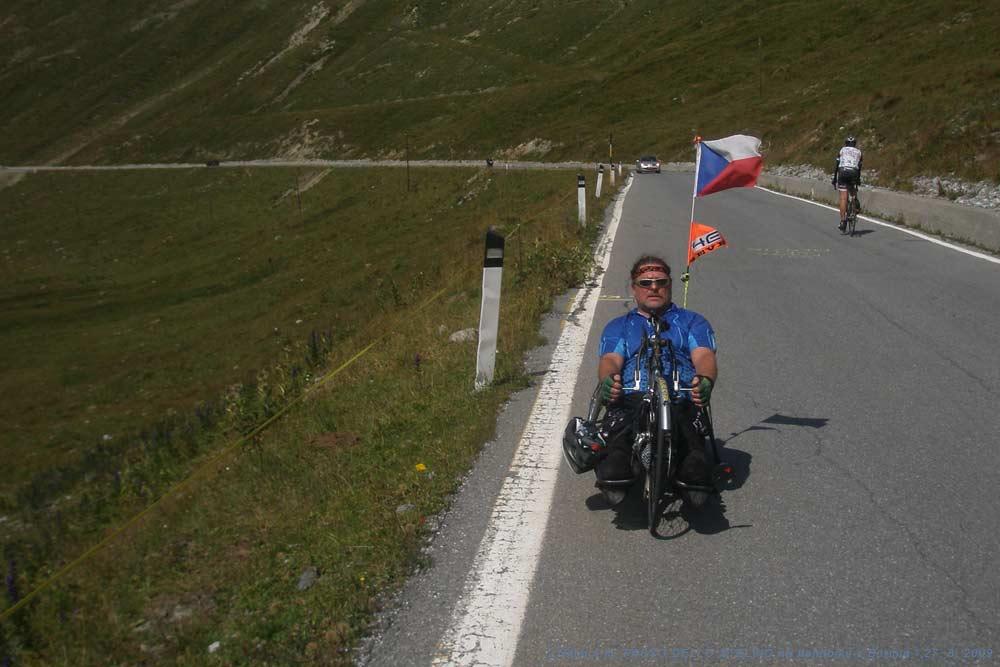 Čtyři kilometry před PASSO DELLO STELVIEM