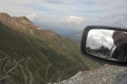 Silnice z PASSO DELLO STELVIO na Prato