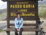 Jindřiška a passo Gavia