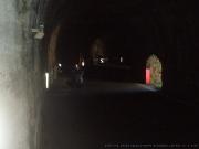 Na handbiku v  tunelu na PASSO DELLO STELVIO