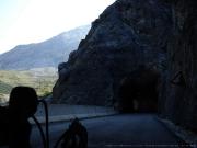 S handbikem před posledním tunelovým úsekem na PASSO DELLO STELVIO 27. 8. 2009