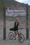 Pavla na PASSU DELLO STELVIO 2760m 27. 8. 2009