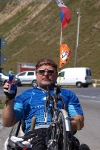Očekávám, že mi narostou křídla - na handbiku do druhého nejvyššího průsmyku v Evropě 27. 8. 2009